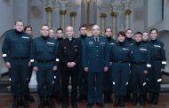 Jaunųjų policininkų priesaika šv. Mikalojaus bažnyčioje